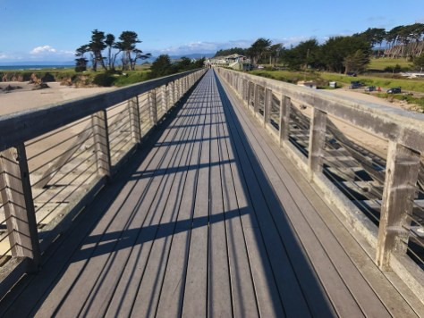 Walk, Bike, Or Run Across the Restored Pudding Creek Trestle