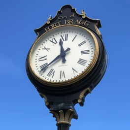 Fort Bragg Clock