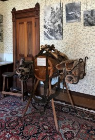 Guest House Museum Exhibits on Logging