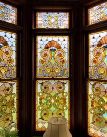 Stunning Guest House Museum Stained Glass Bay Windows