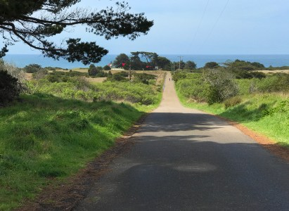 Half Mile Walk To Point Cabrillo Lighthouse