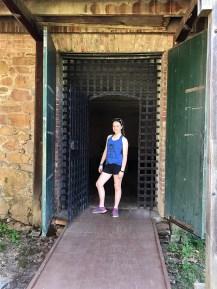 Natalie Bourn at the Shasta State Historic Park
