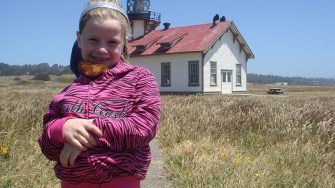 Natalie Bourn at Point Cabrillo Light Station In 2010