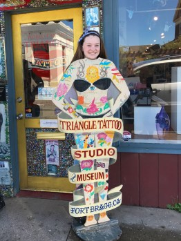 Natalie Bourn at The Triangle Tattoo Studio