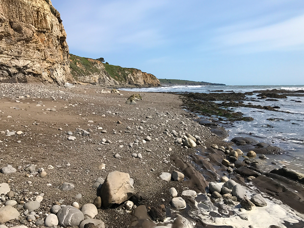 Exploring The Rocky Moat Creek Beach