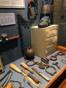 Shasta State Historic Park Jail Museum Exhibits