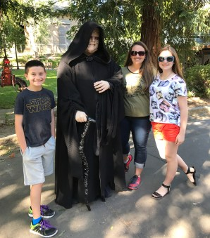 Emperor Palpatine at Sacramento Zoo Star Wars Day