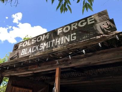 Folsom Pioneer Village Blacksmith Shop