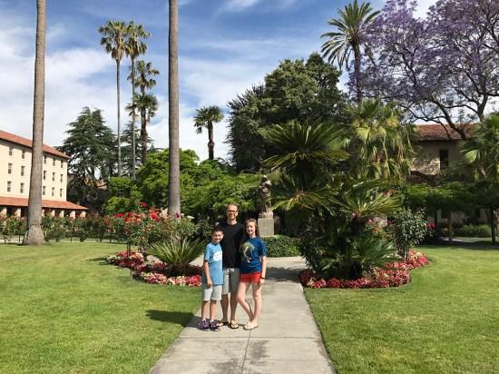 Garden at Mission Santa Clara