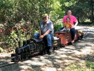 Jim Martorella Live Steamers Railroad Meet