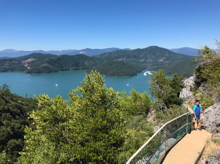 Lake Shasta Caverns Tour Exit Trail