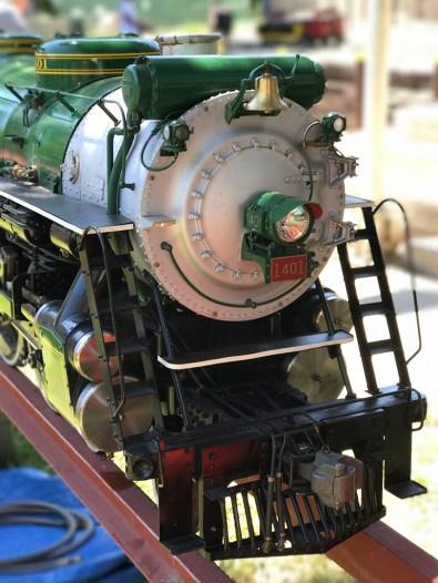 Miniature Steam Engine at Hagen Park in Rancho Cordova