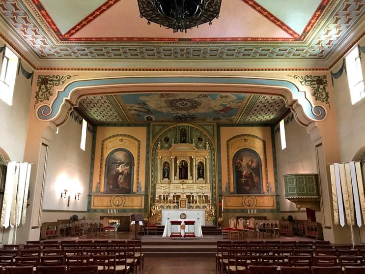 Mission Santa Clara Church Sanctuary