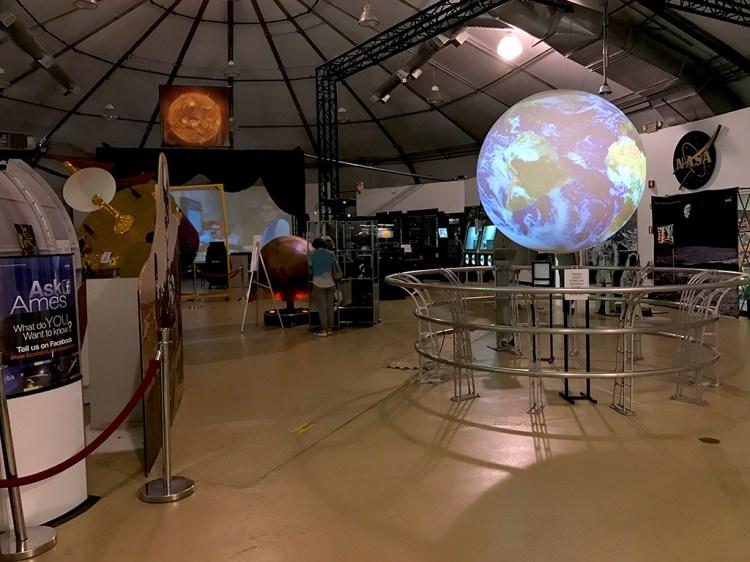 NASA Ames Visitor Center Displays