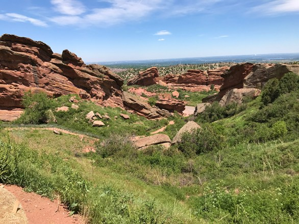 Red Rocks Park and Amphitheater Hiking Trails
