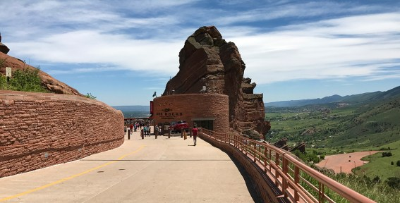 Red Rocks Amphitheatre Entrance