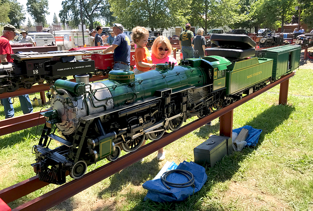 Sacramento Valley Live Streamers Railroad Museum