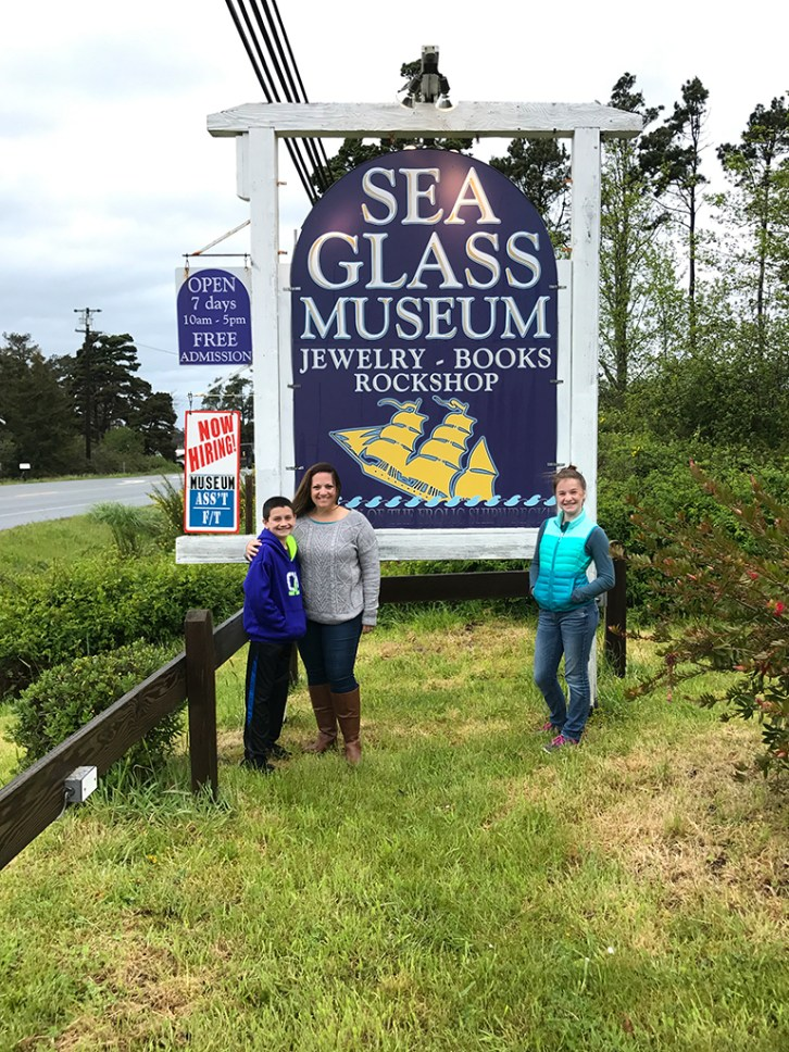 Visiting The Sea Glass Museum and Gift Shop
