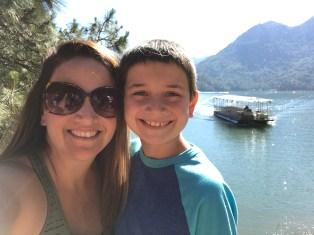Shasta Caverns Boat Ride