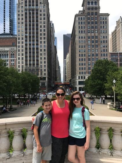 AT&T Plaza in Millennium Park, Chicago