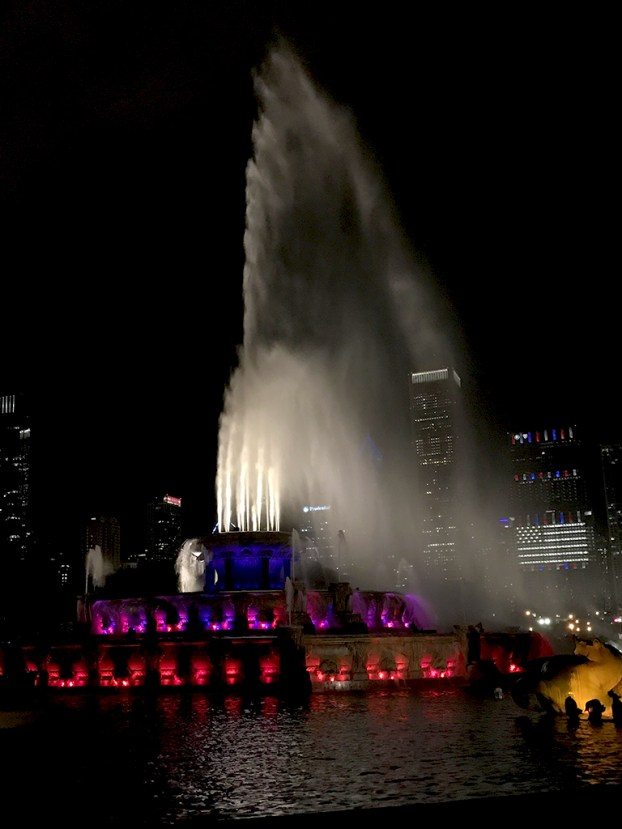 Buckingham Fountain has 134 jets and 280 lights