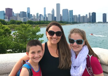 Carter, Jennifer, and Natalie Bourn in Chicago