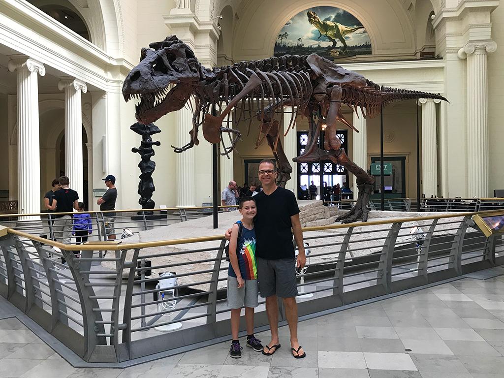 SUE the T-Rex Skeleton