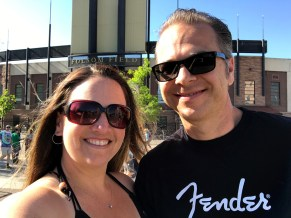 Jennifer and Brian Bourn at Dead & Company, Boulder, Colorado
