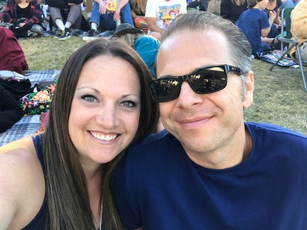 Jennifer and Brian Bourn at Shoreline Amphitheater for Dead & Company on June 4