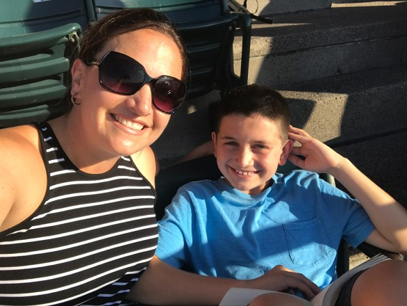 Jennifer and Carter Bourn at the 2017 Dead & Company Concerts at Wrigley Field