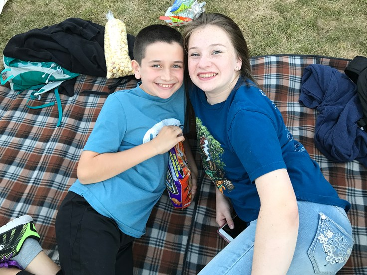 Natalie and Carter Bourn, Dead & Company, Shoreline Amphitheater