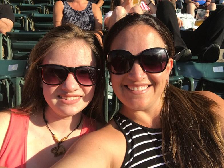 Natalie and Jennifer Bourn Wrigley Field, Chicago