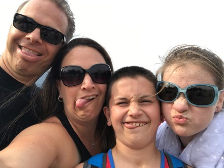 Silly Family Selfie