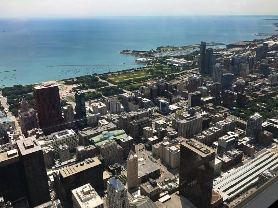 Skydeck Chicago Views From The Top of Willis Tower