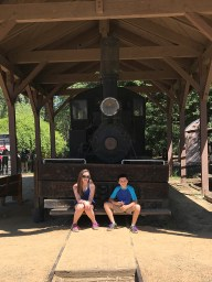 Natalie and Carter at Turtle Bay, Redding, California