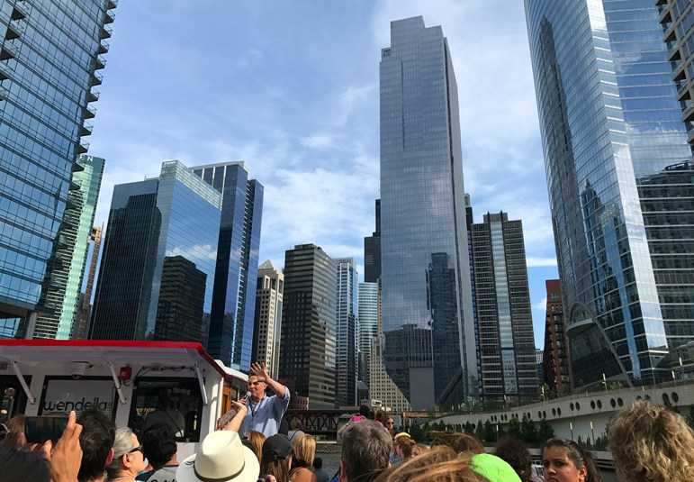 Wendella Chicago Architecture Tours on the Chicago River