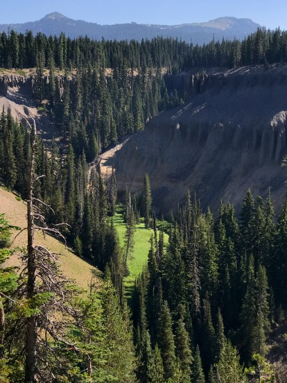 Annie Creek Overlook at Crater Lake National Park