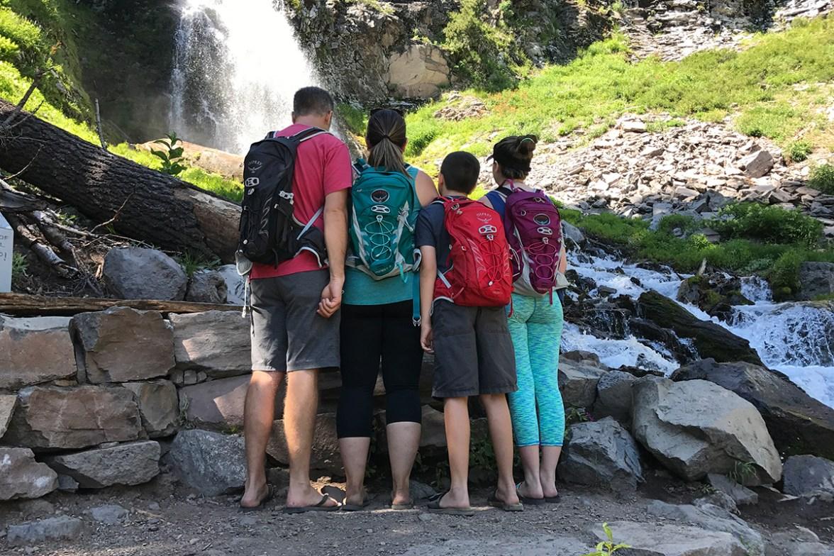 Bourn Family Backpacks