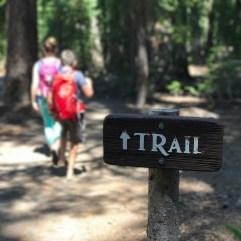 Plaikni Falls Trail Sign