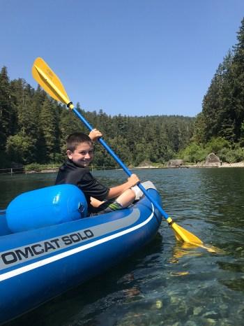 Carter Bourn Kayaking