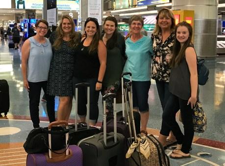 Family Girls Weekend Getaway