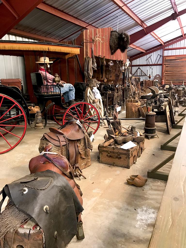 Inside the Larsen Farm Museum