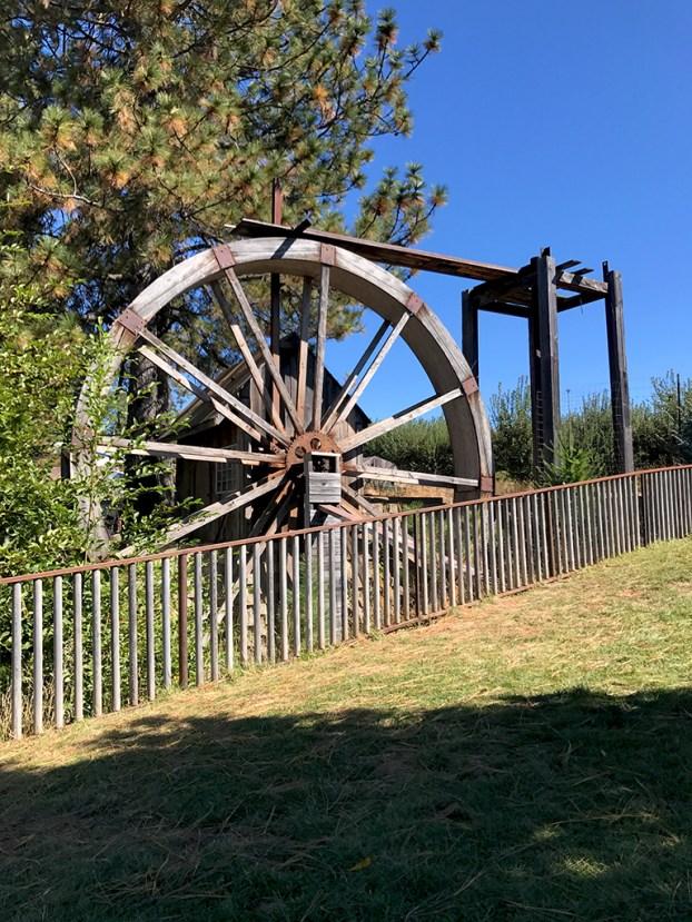 Larsen Apple Barn Water Wheel