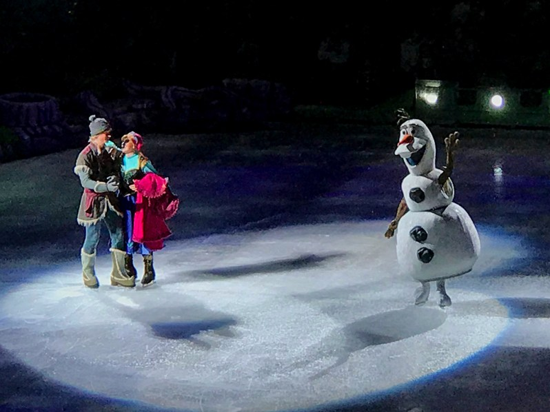 Frozen and Disney on Ice in Sacramento