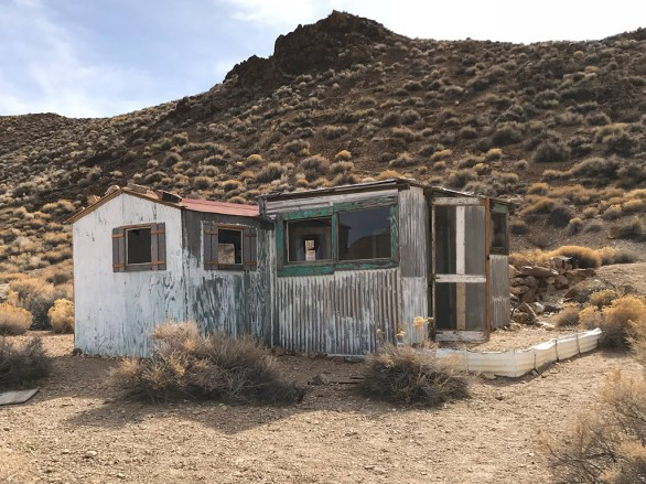 Abandoned Mining Camp Building in Death Valley