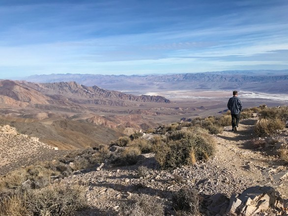 Aguereberry Point Trail in Death Valley