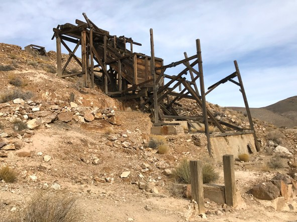 Aguereberry's Eureka Mine and Cashier Mill