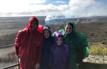bournBourn Family at the Jaggar Museum Overlooking Kilauea Crater-family-jaggar-museum-overlook