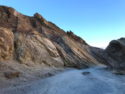 Death Valley Golden Canyon Trail