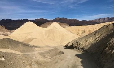 Death Valley Twenty Mule Team Canyon Road